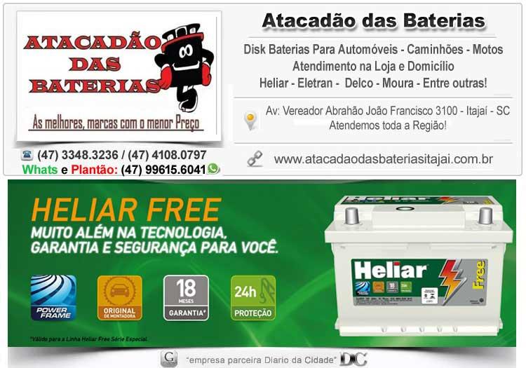 Sos Baterias Balneário Camboriú